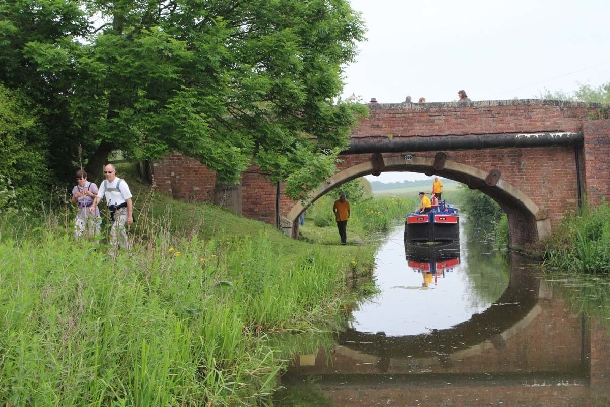 History Club Canal Boat Pull June 2016 - 20